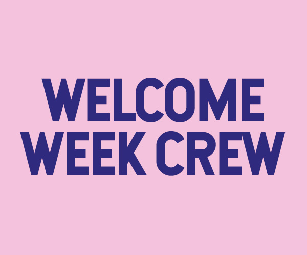 Welcome Week Crew - student staff recruitment page icon