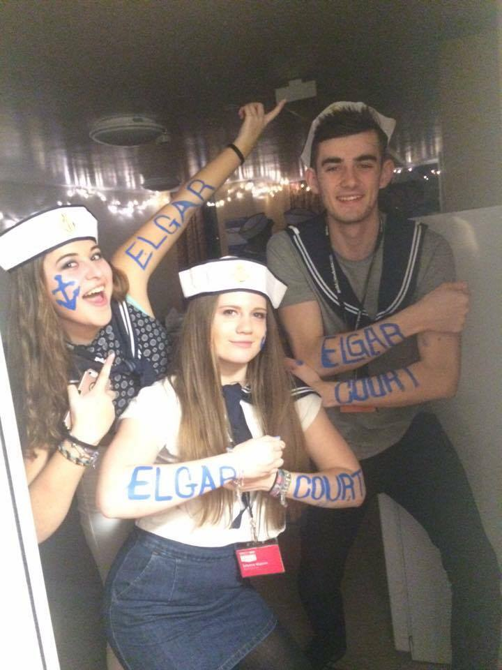 We are your Residents' Association committee for Elgar Court this year also known as RAs! The team is made up of Gemma, Sabrina and Ben.