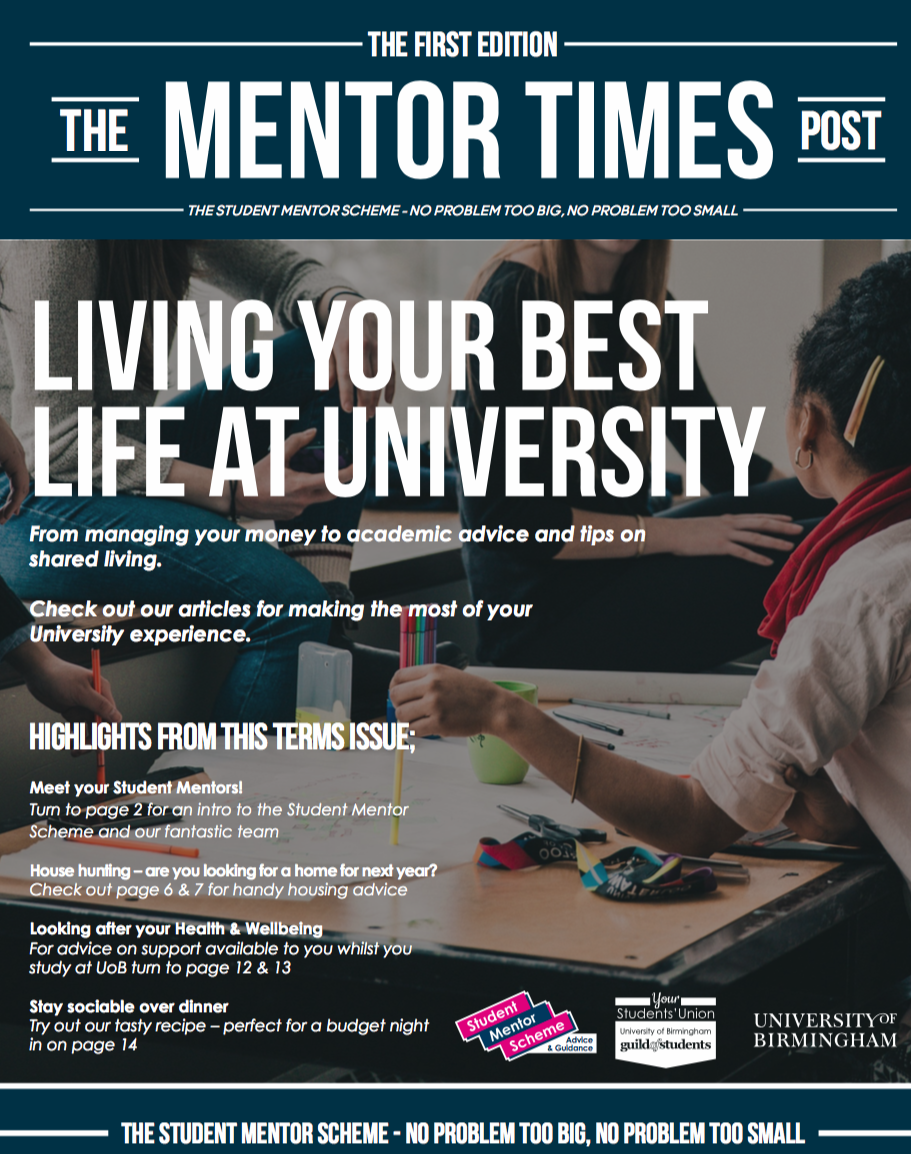 Front page image of The First Edition of The Mentors Times Post