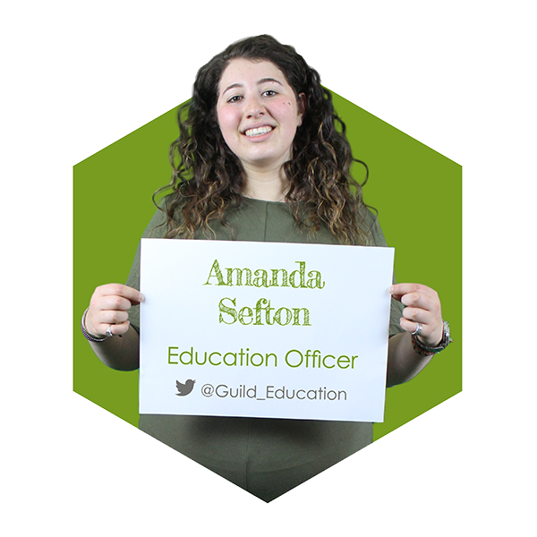 Amanda Sefton - Education Officer