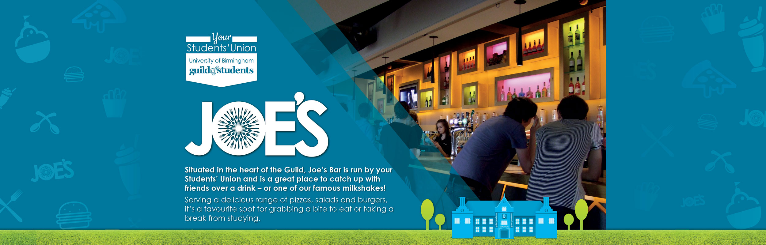 joes bar page header for desktop