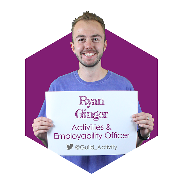 Ryan Ginger - Activities & Employability Officer